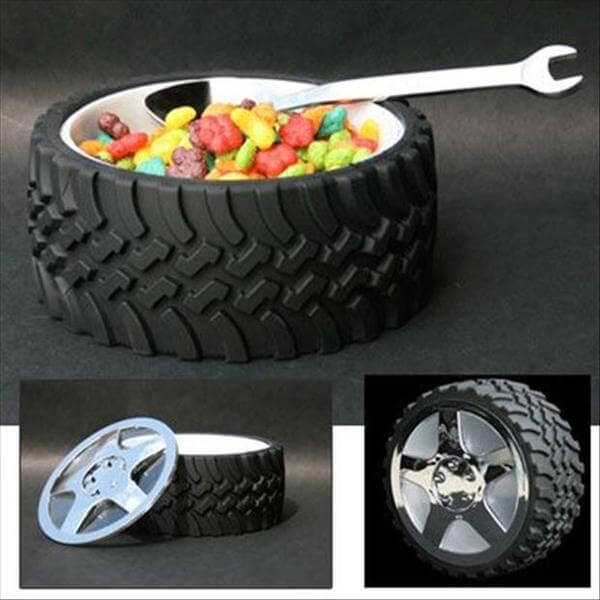 vehicle tire home accessory