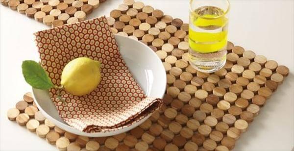 handmade cork coasters