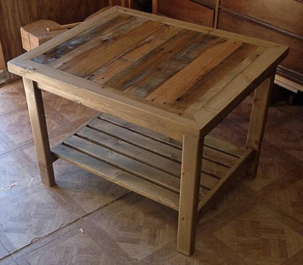 diy easy hand made recycled table