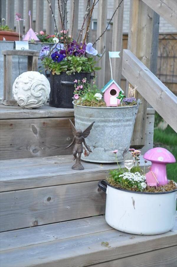 fairytale garden decor project
