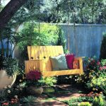 creative garden swing project