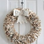 diy recycled book projects abd bike wheel wreath pattern