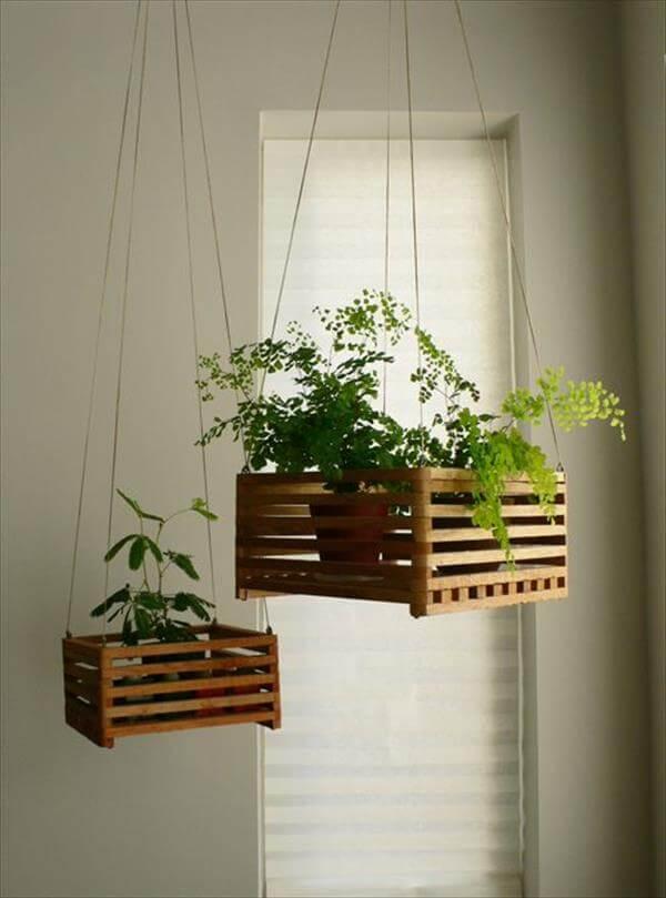 diy simple wooden basket