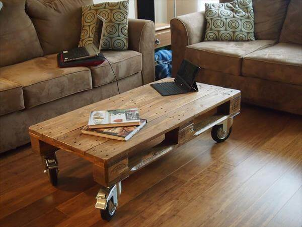 diy recycled coffee table