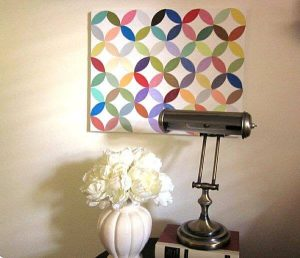 stylish crafty supplies wall art