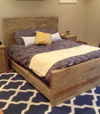 diy recycled wood night stand top notch bedroom design ideas