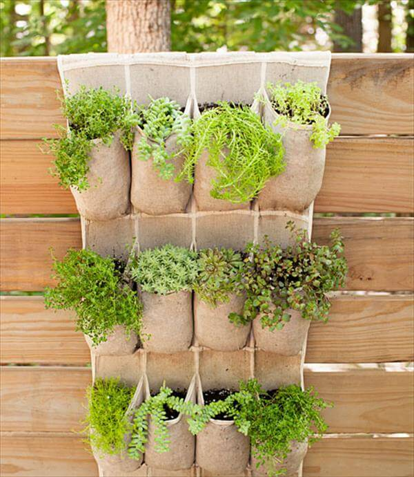 pocket garden idea