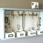diy creative jewelry box organizer