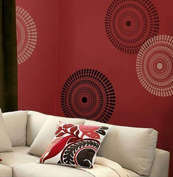 diy wall art pattern