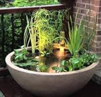 diy patio coution planter idea