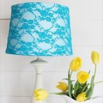 old t-shirt lampshade