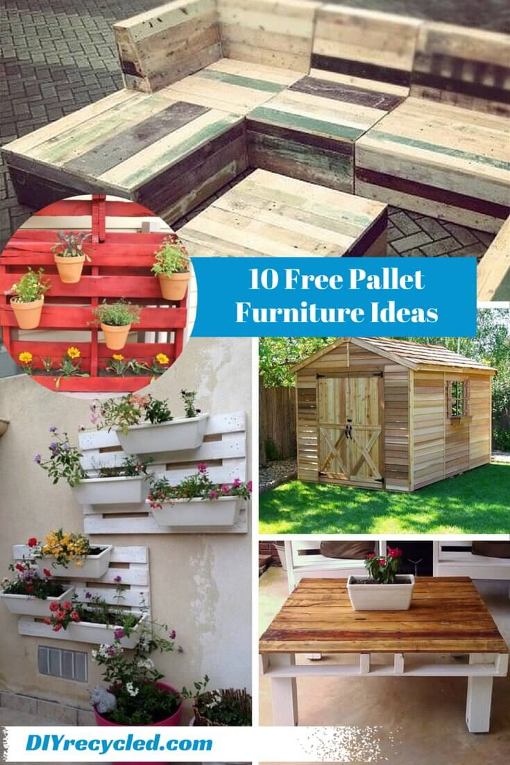 10 DIY Ideas for Wooden Pallets