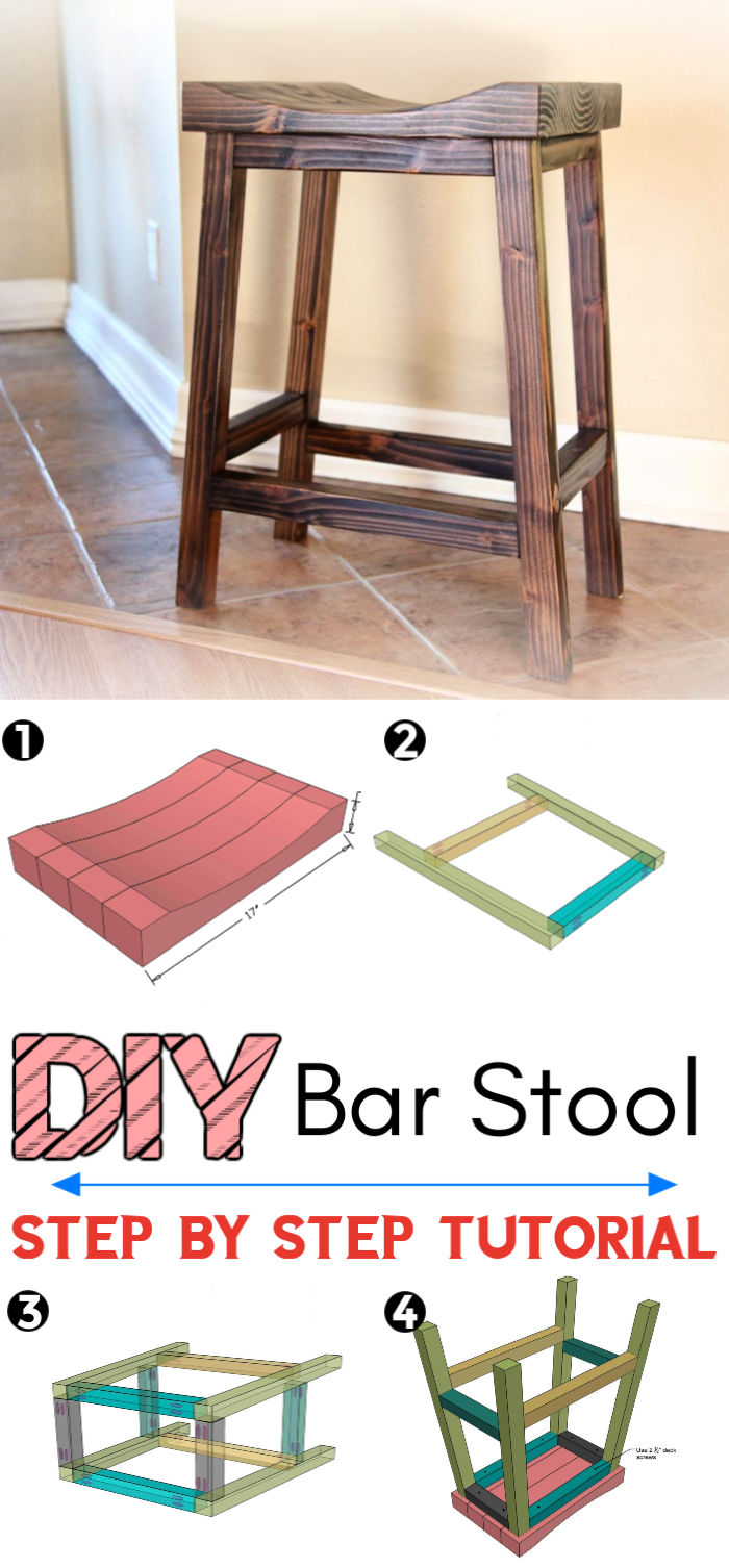 Build a Bar Stool Cost Less than 15