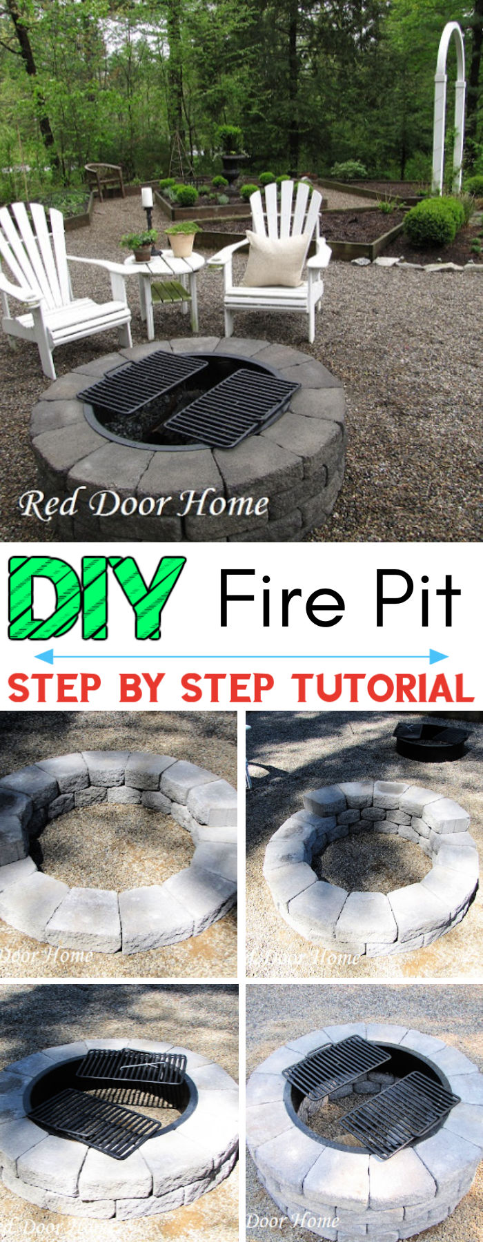 Building a Fire Pit Step by Step Tutorial