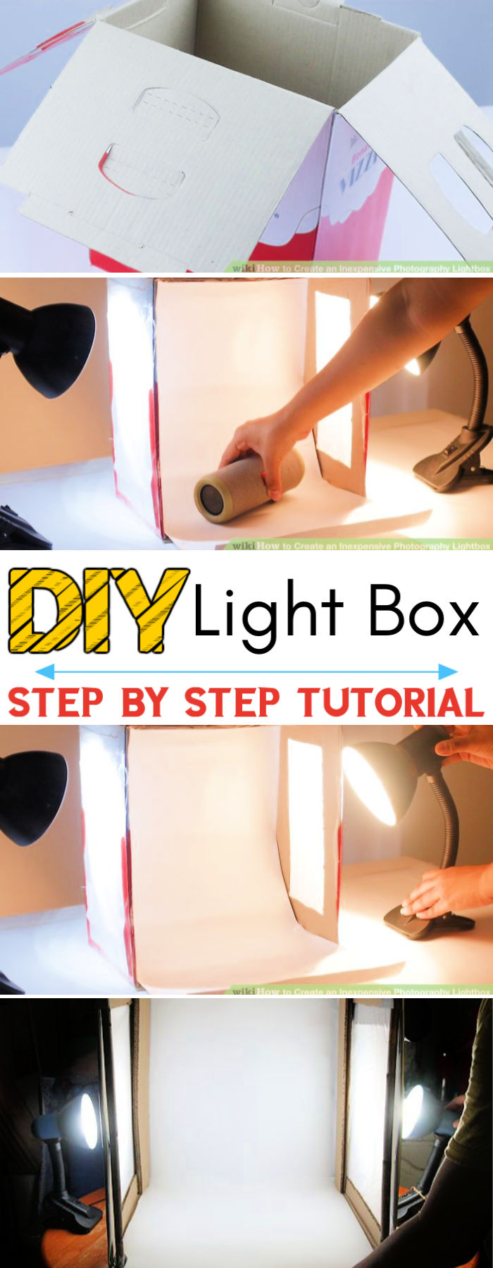 Create an Inexpensive Photography Lightbox