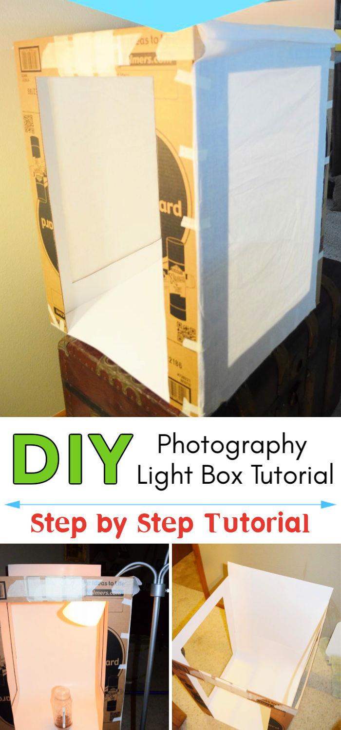 DIY Homemade Photography Light Box