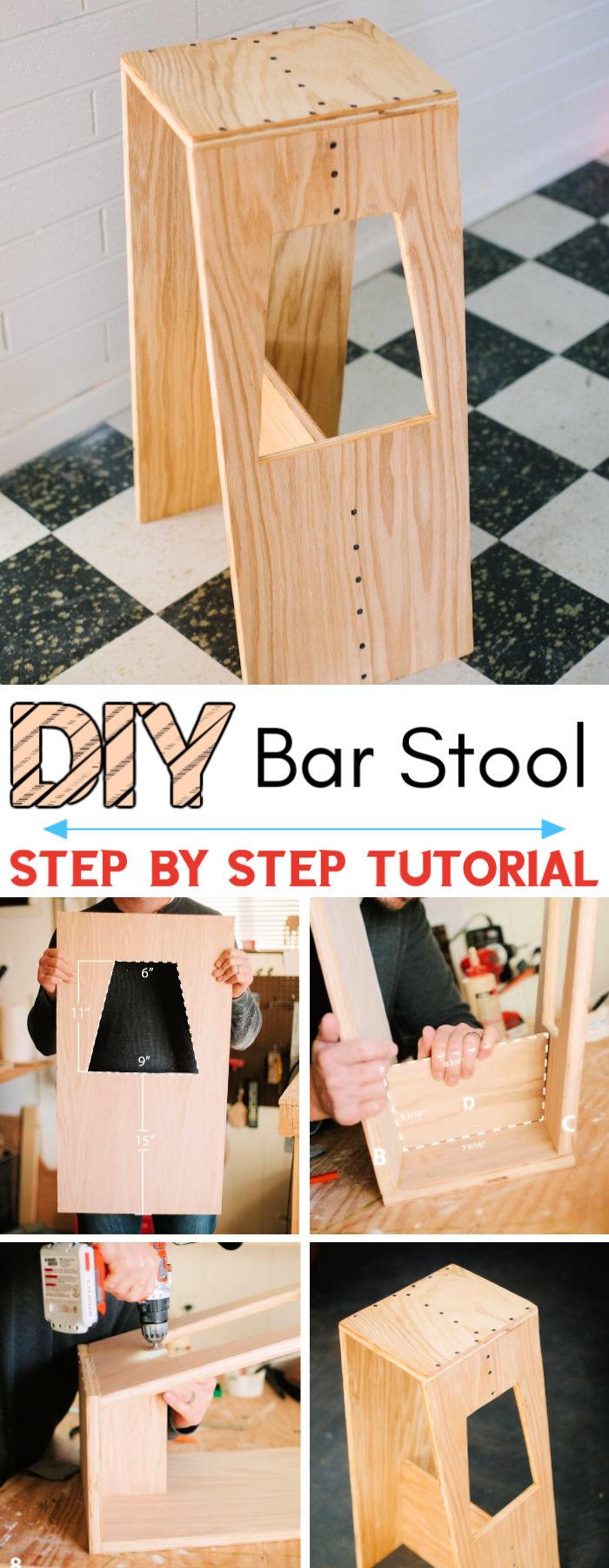 DIY Josh Sarah's Modern Stool
