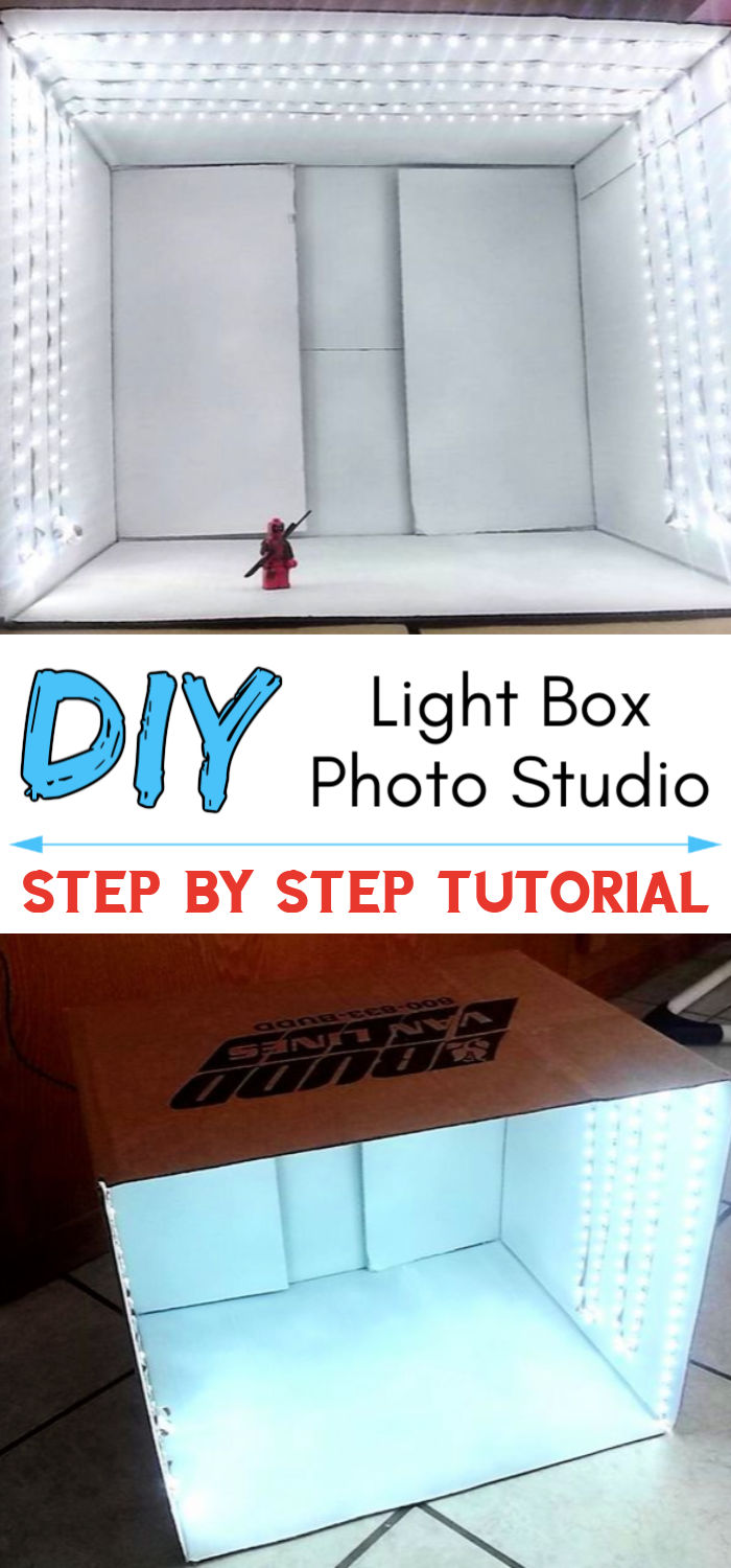 DIY Light Box Photo Studio