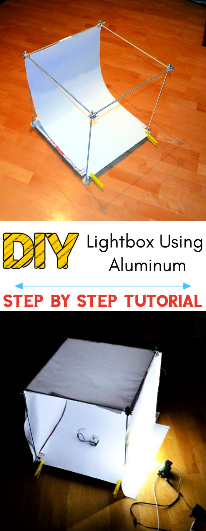 DIY Lightbox using Aluminum