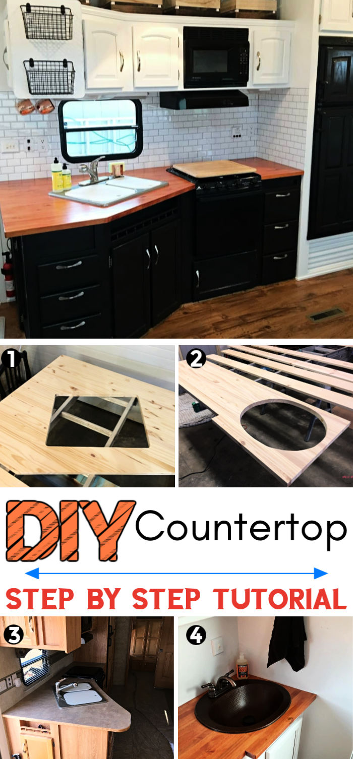 DIY Wood Countertops That Look Insanely Expensive