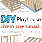 Handmade Wooden Playhouse for Kids