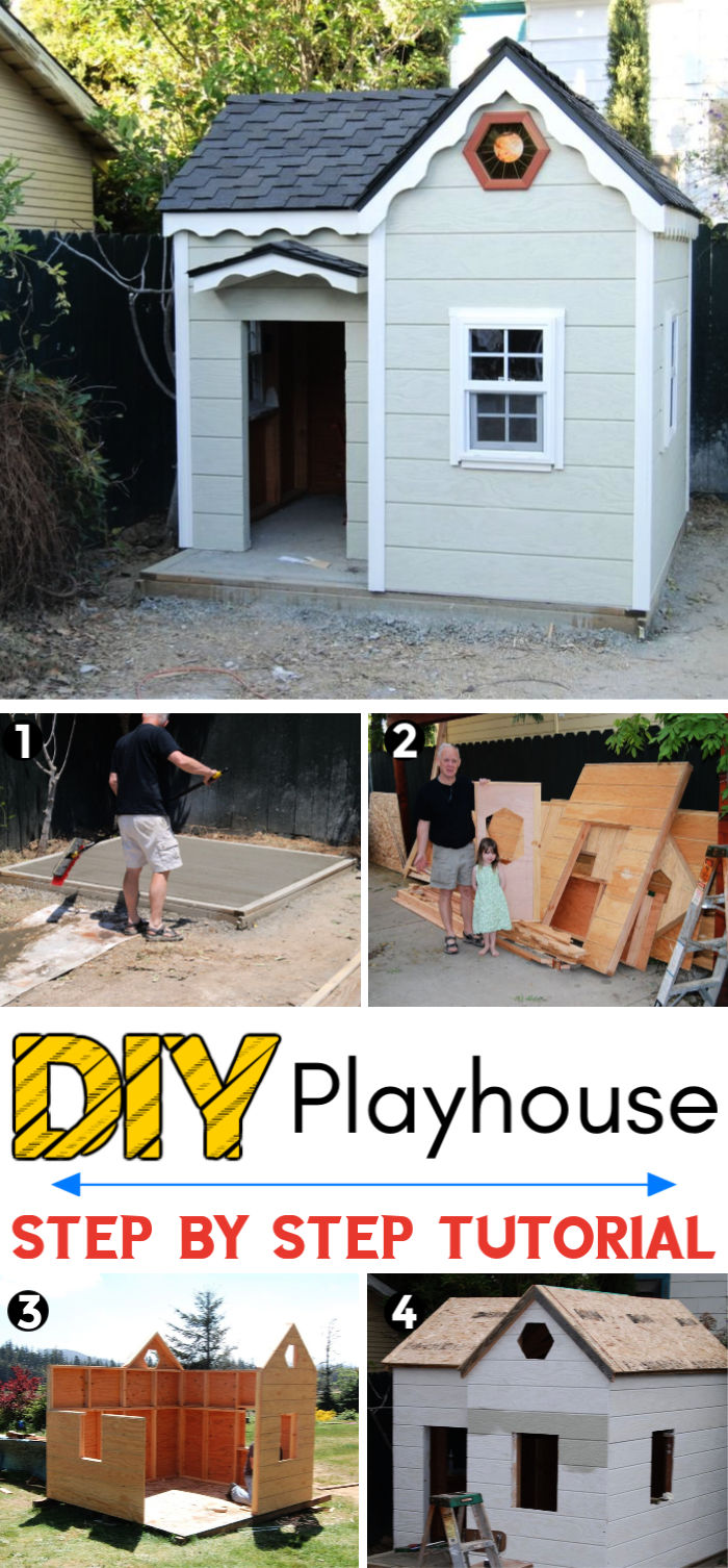 How To Build The Princess Playhouse
