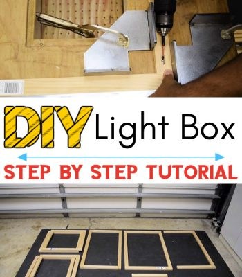 How to Build a Light Box
