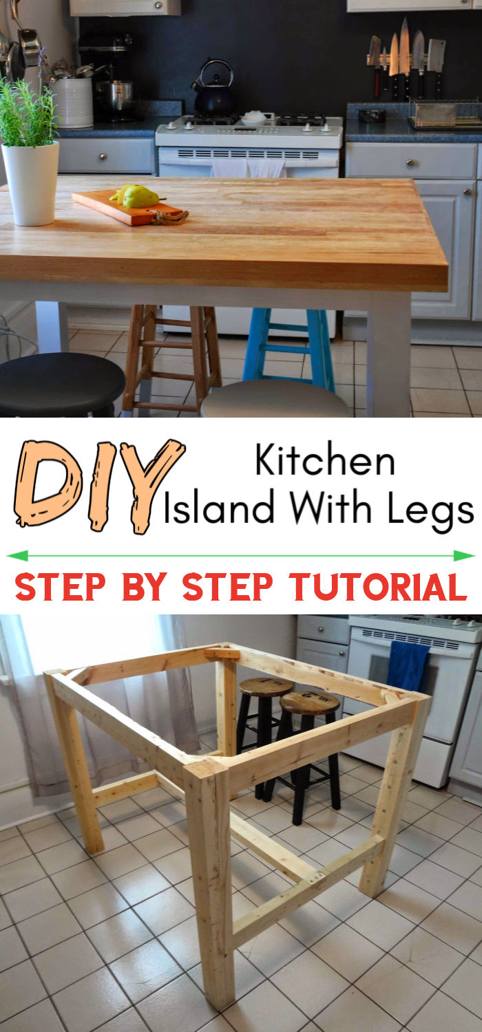 How to Make a Kitchen Island